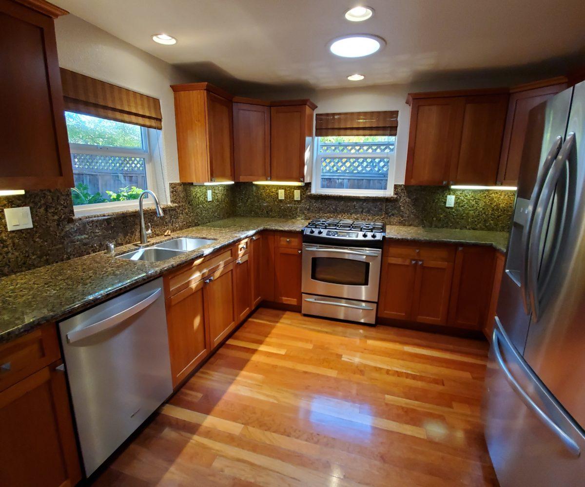 60 Malet Street kitchen