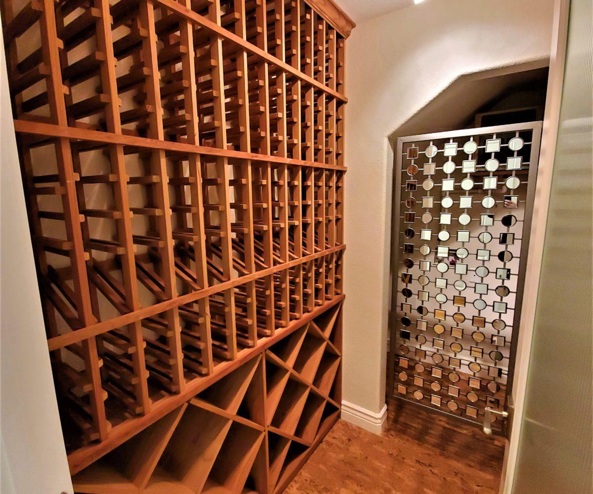 60 Malet Street wine cellar