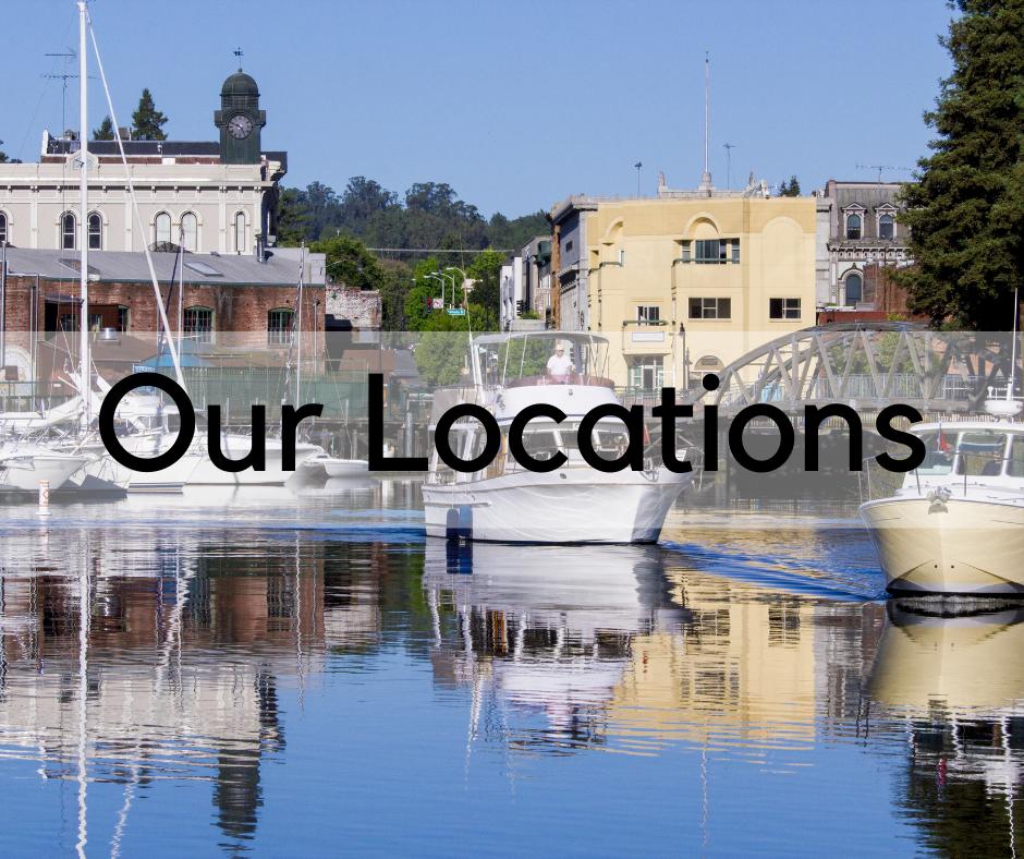 Our Locations boats on Petaluma River